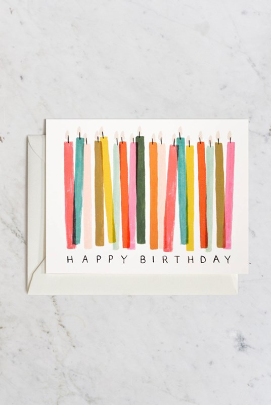 Rifle Paper Co - Single Card - Birthday Candle