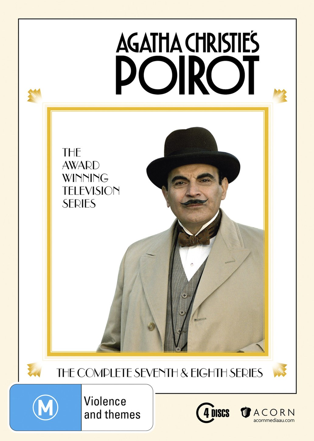Agatha Christie: Poirot - Series 7 and 8