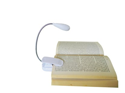 The Flexible Book Light Battery - White by  (9351095002167) - Accessory - Lifestyle Booklights
