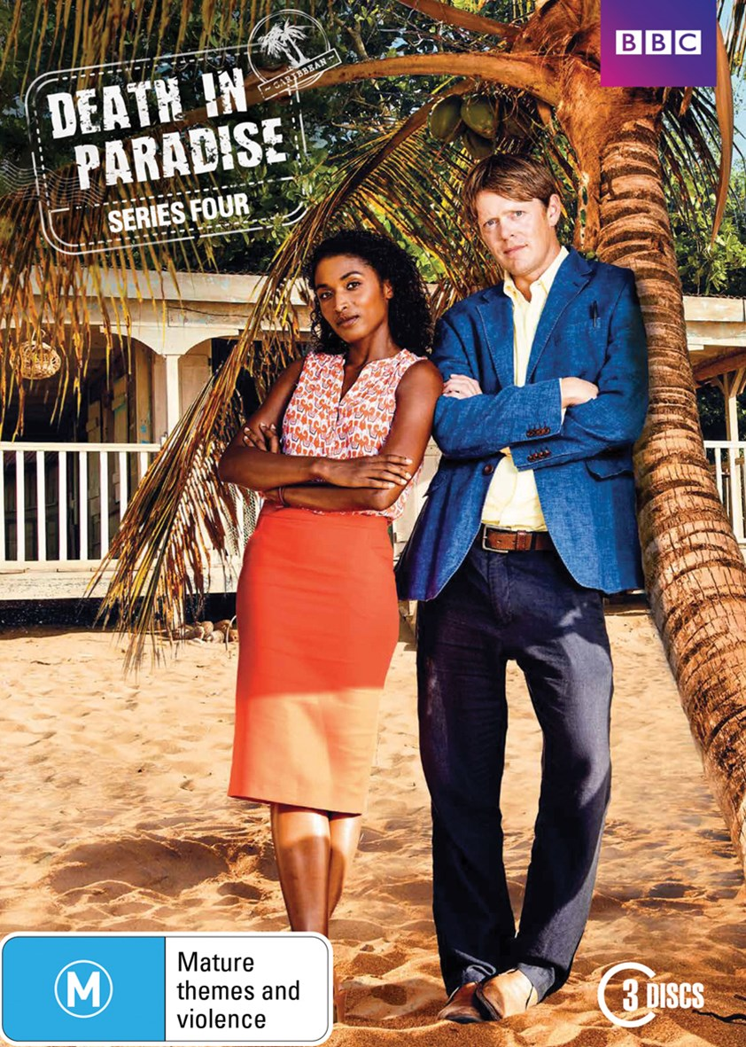 Death In Paradise S4 DVD