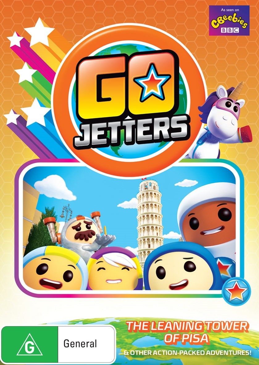 Go Jetters: The Leaning Tower of Pisa (and Other Action-packed Adventures!)