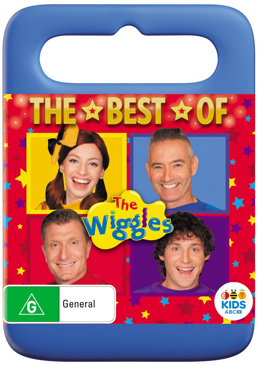 WIGGLES THE HOT POTATOES BEST DVD