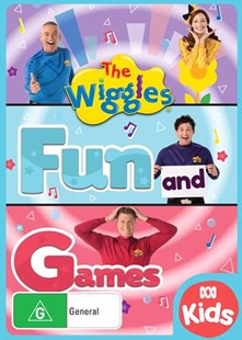 The Wiggles: Fun and Games DVD - Film & TV Children & Family