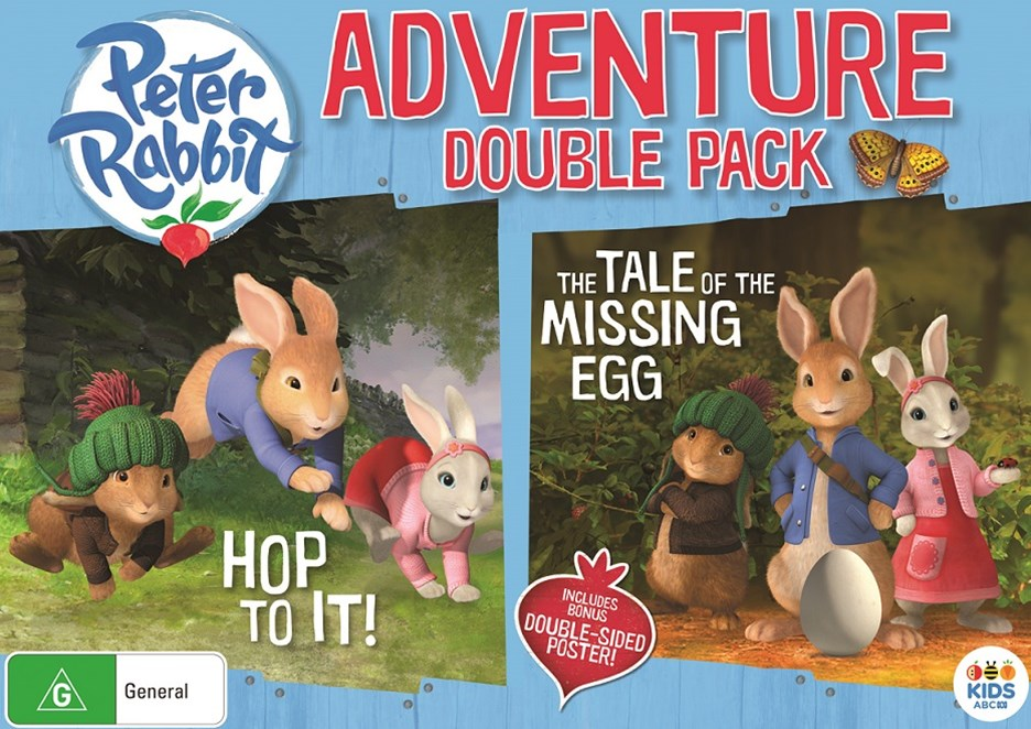 Peter Rabbit Adventure Double Pack: (Hop to it! / The Tale of the Missing Egg) (GWP Limited)