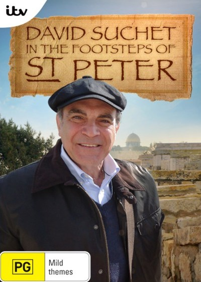 Suchet Footsteps of St Peter DVD (e)