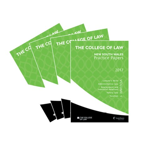 The College of Law NSW Practice Papers 2017 – Set