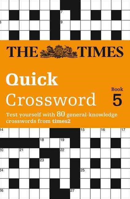 Times 2 Crossword Book 5
