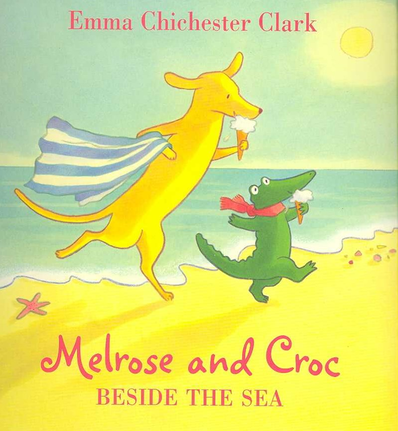 Melrose And Croc Beside The Sea