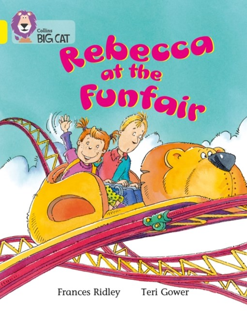 Rebecca at the Funfair