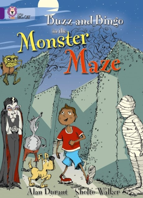 Buzz and Bingo in the Monster Maze