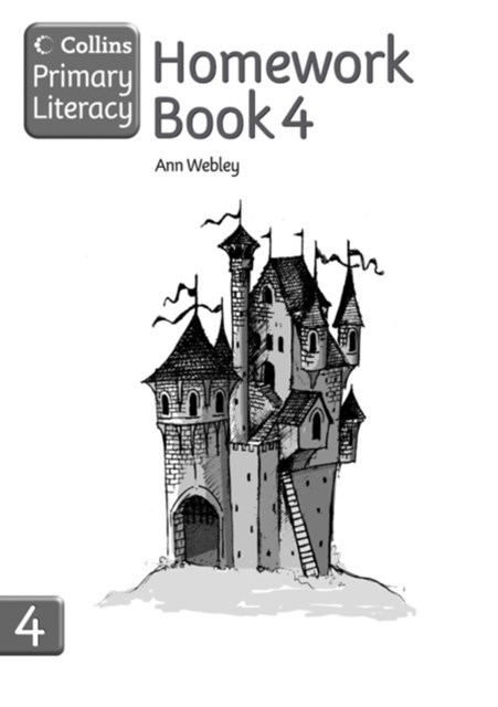 Collins Primary Literacy: Homework Book 4