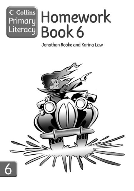 Collins Primary Literacy: Homework Book 6