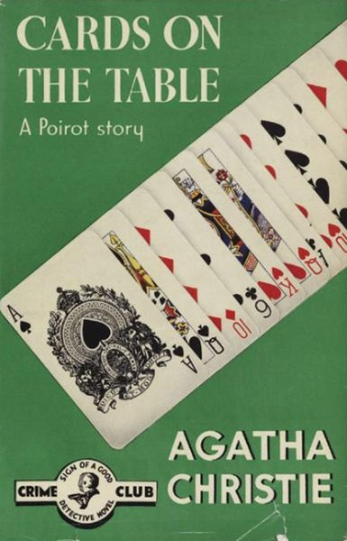 Cards On The Table Poirot Facsimile Edition