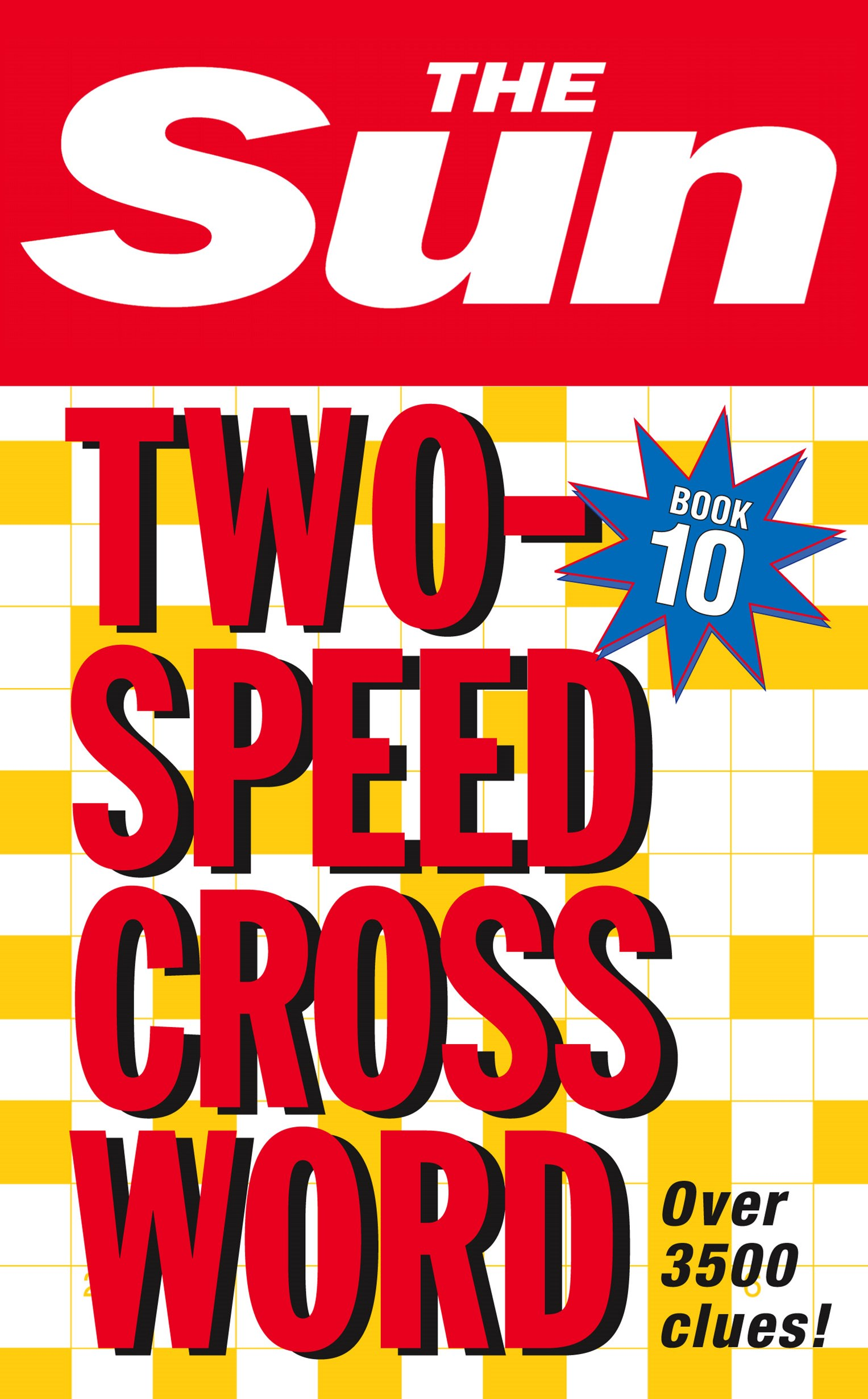 Sun Two-Speed Crossword Book 10