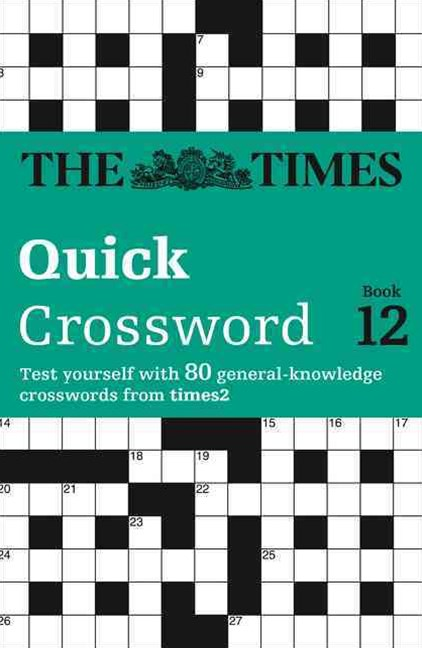 Times T2 Crossword Book 12