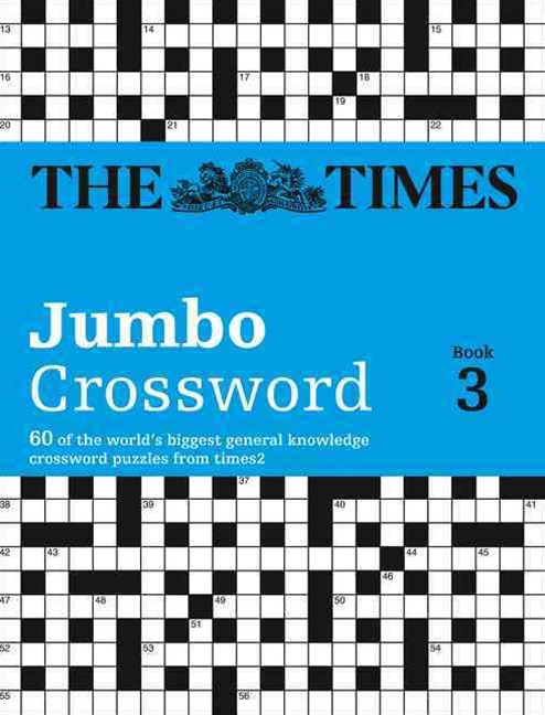 Times T2 Jumbo Crossword Book 3