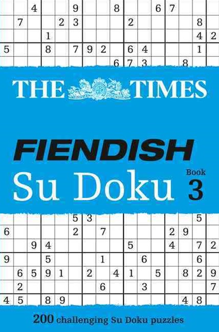 The Times Fiendish Su Doku Book 3