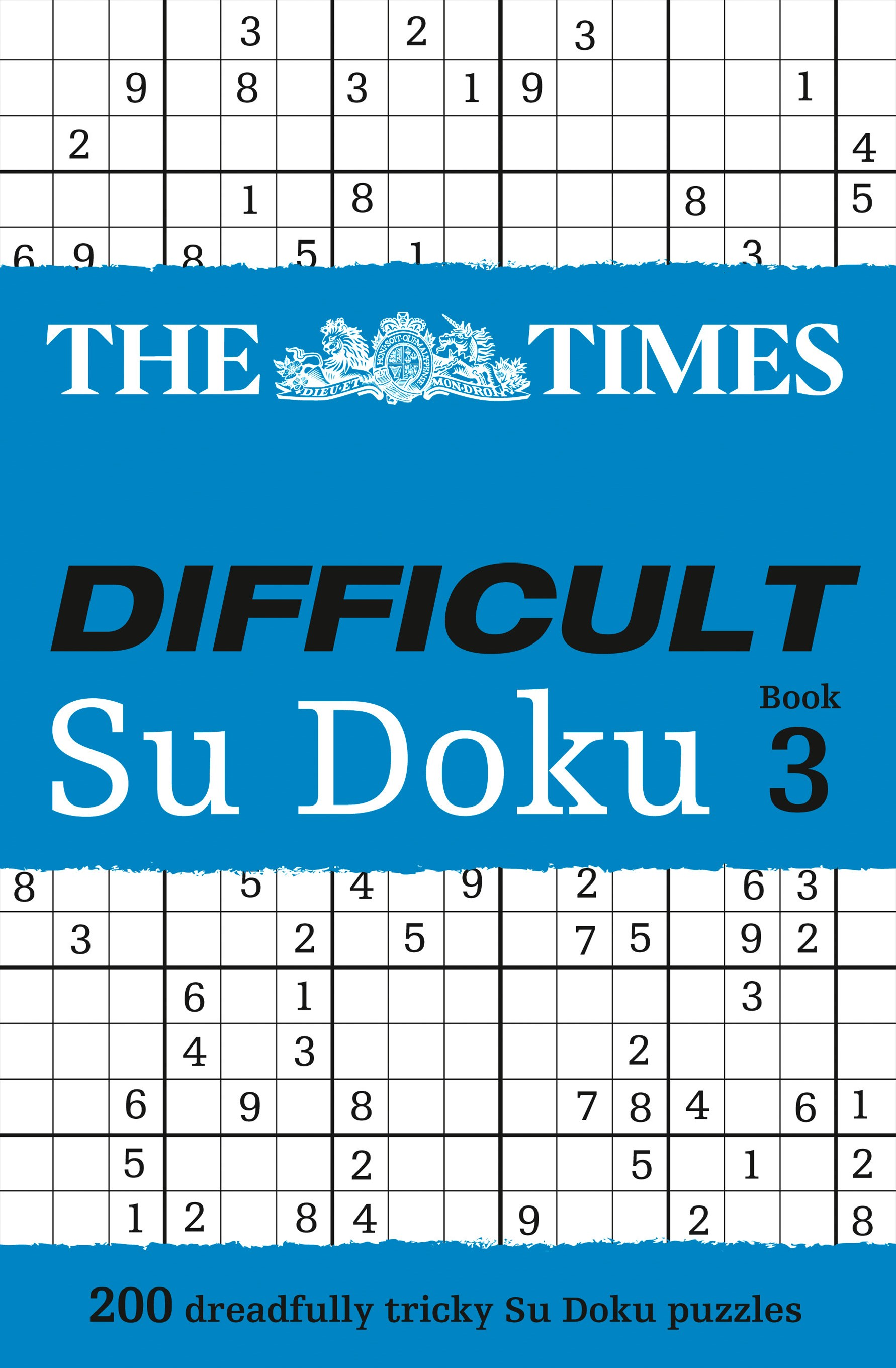 Times Difficult Su Doku Book 3