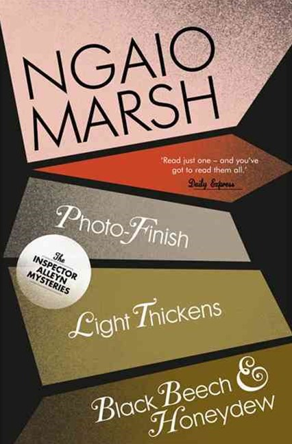The Ngaio Marsh Collection (11) - Photo-Finish / Light Thickens / Black