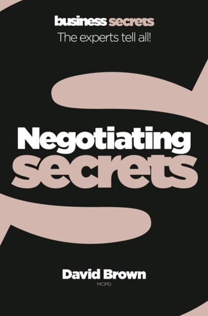 Negotiating (Collins Business Secrets)