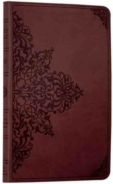 Holy Bible: English Standard Version (ESV) Thinline Chestnut Ornamental Edition