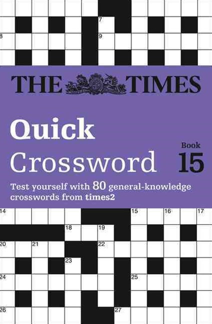 Times 2 Crossword Book 15