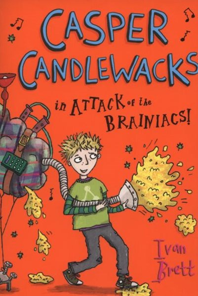 Casper Candlewacks in Attack of the Brainiacs!