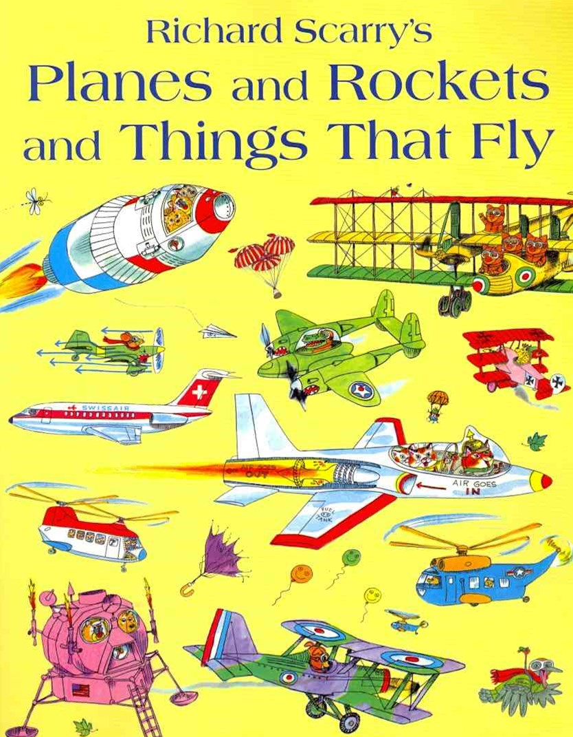 Planes And Rockets And Things That Fly