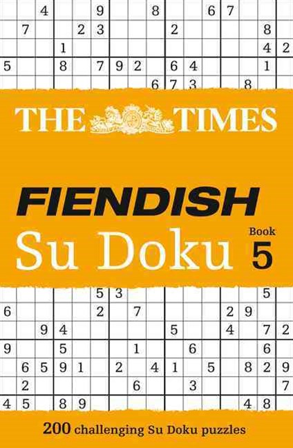 The Times Fiendish Su Doku Book 5