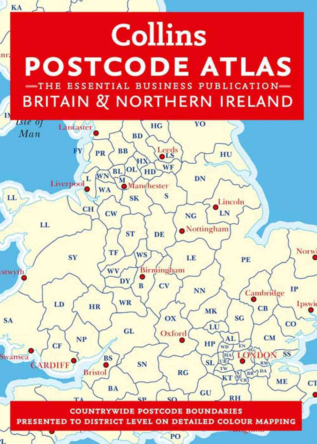 Postcode Atlas of Britain and Ireland