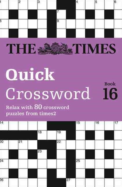 Times 2 Crossword 16
