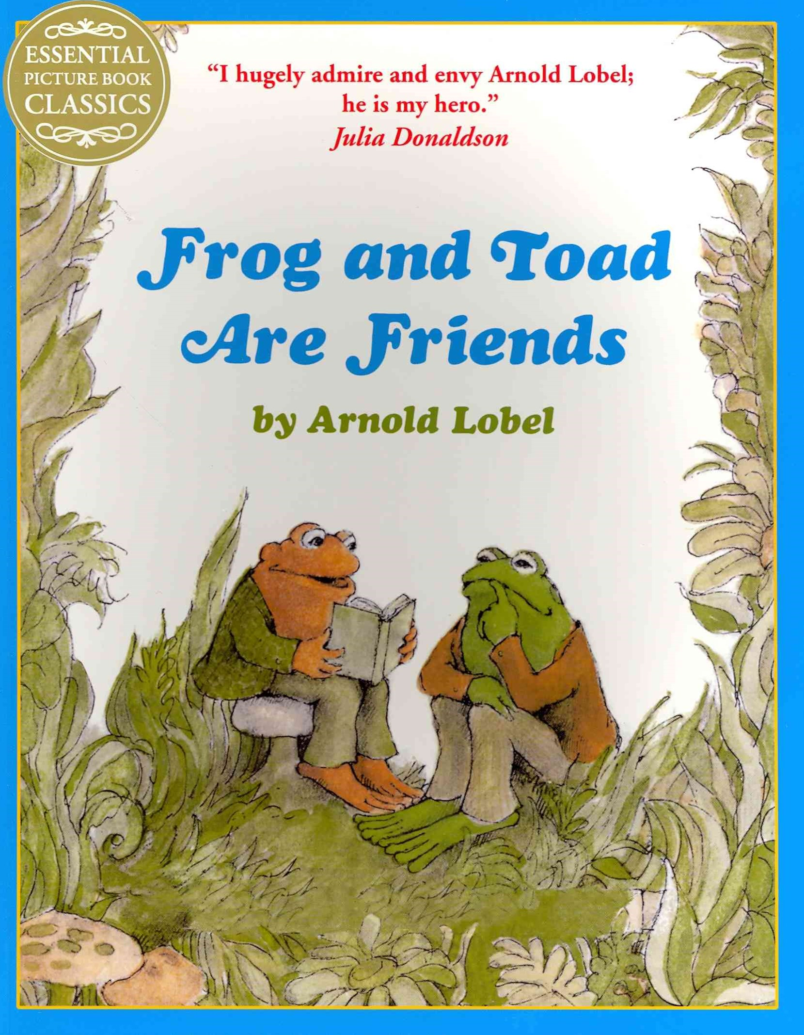 Essential Picture Book Classics - Frog And Toad Are Friends