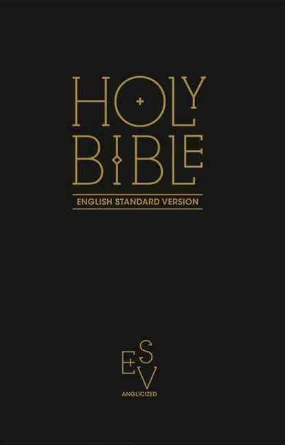 Holy Bible: English Standard Version (ESV) Anglicised Navy Blue Gift AndAward Bible