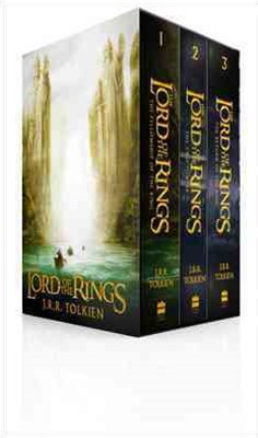The Lord Of The Rings: B-Format Boxed Set [Film Tie-in International Edition]