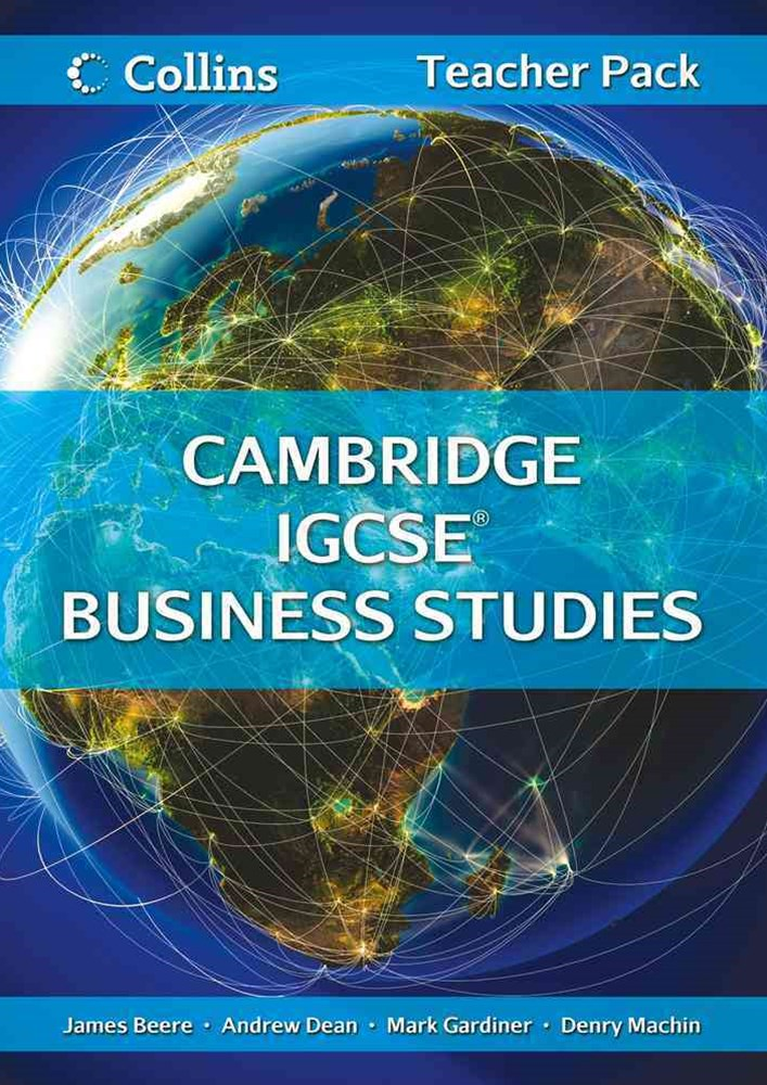 Cambridge IGCSE Business Studies Teacher Resource Pack