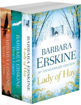 Barbara Erskine 3-Book Collection: Lady of Hay, TimeGÇÖs Legacy, Sands of Time