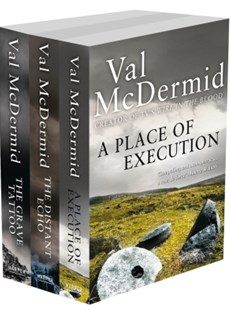 (ebook) Val McDermid 3-Book Crime Collection: A Place of Execution, The Distant Echo, The Grave Tattoo - Crime Mystery & Thriller