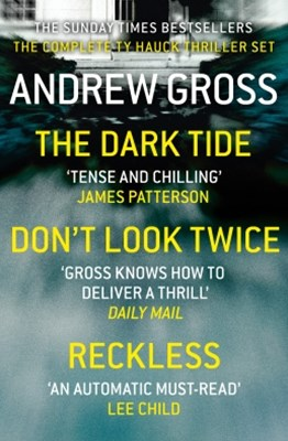 Andrew Gross 3-Book Thriller Collection 1: The Dark Tide, Don't Look Twice, Relentless
