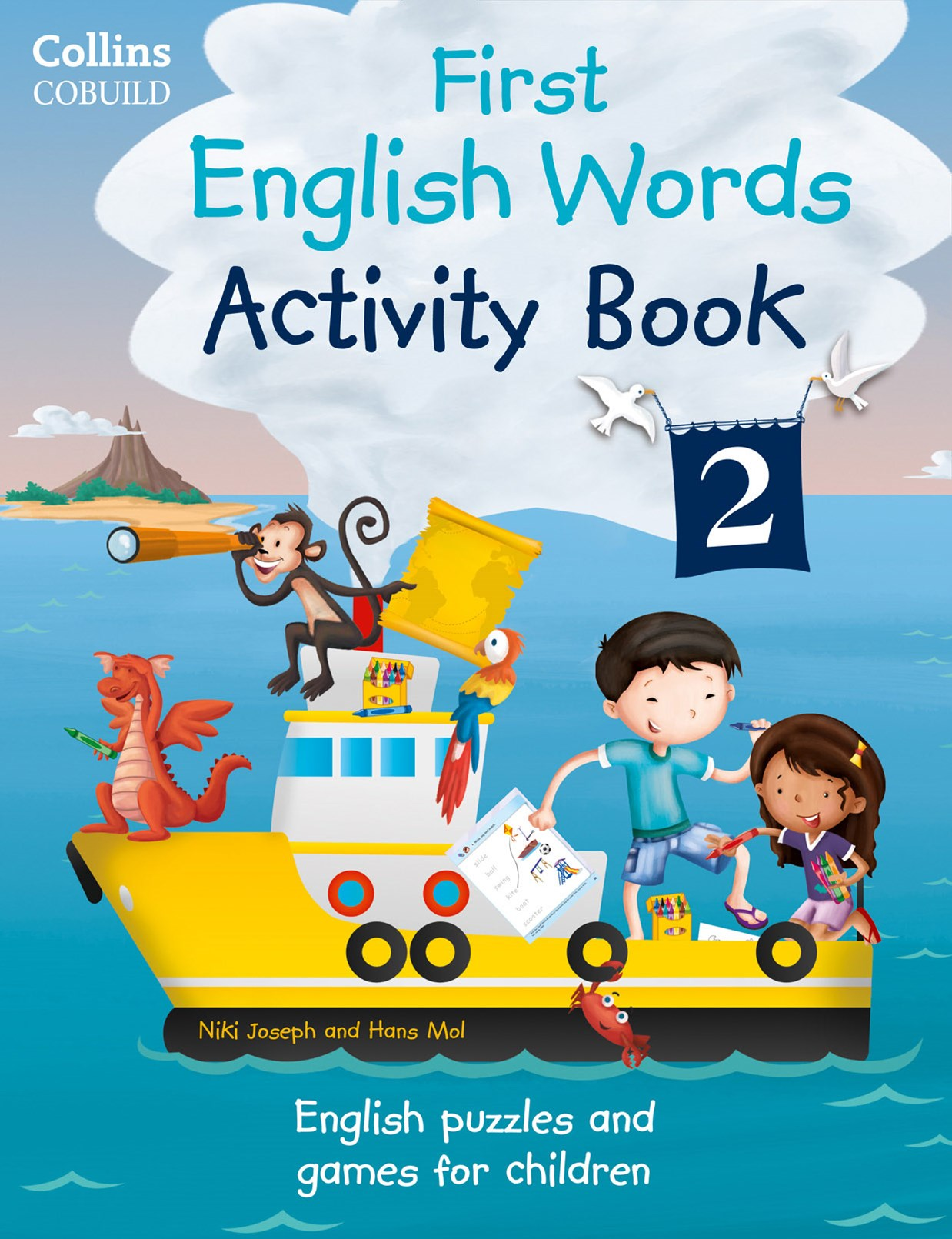 Collins First: First English Words Activity Book 2