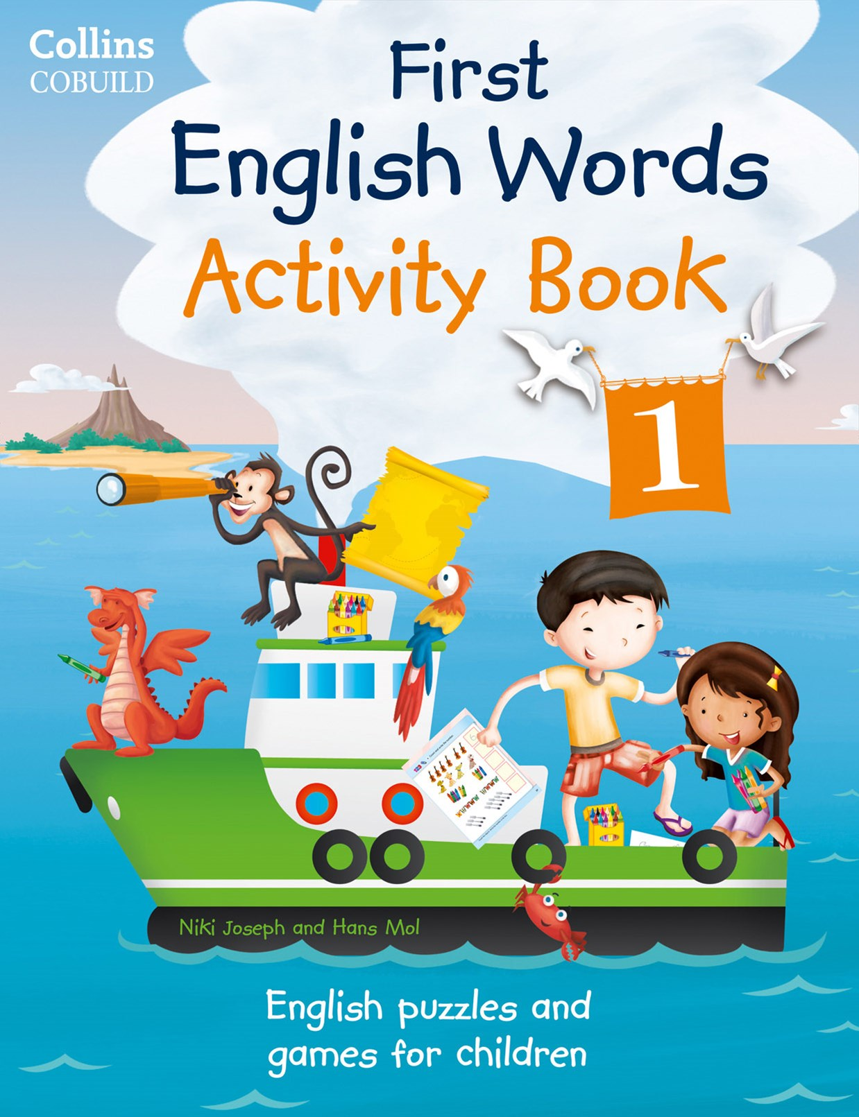 Collins First: First English Words Activity Book 1