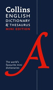 Collins Mini English Dictionary and Thesaurus [3rd Edition] by Collins Dictionaries (9780007531950) - PaperBack - Reference Dictionaries