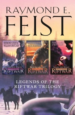 (ebook) The Complete Legends of the Riftwar Trilogy: Honoured Enemy, Murder in Lamut, Jimmy the Hand