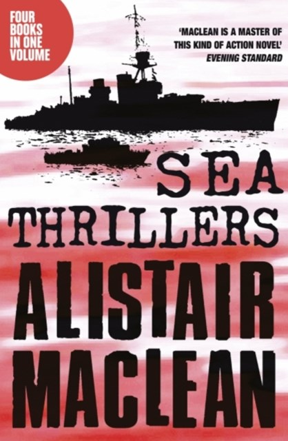 Alistair MacLean Sea Thrillers 4-Book Collection: San Andreas, The Golden Rendezvous, Seawitch, San