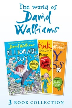 (ebook) The World of David Walliams 3 Book Collection (The Boy in the Dress, Mr Stink, Billionaire Boy)