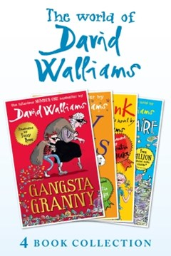 (ebook) The World of David Walliams 4 Book Collection (The Boy in the Dress, Mr Stink, Billionaire Boy, Gangsta Granny)