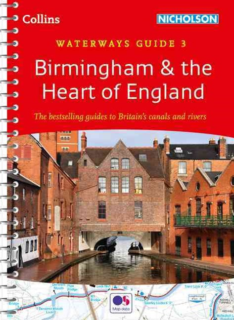 Collins Nicholson Waterways Guides: Birmingham & The Heart of England