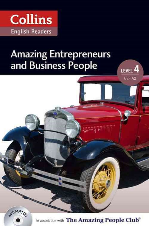 Collins ELT Readers: Amazing Entrepreneurs & Business People (Level 4)