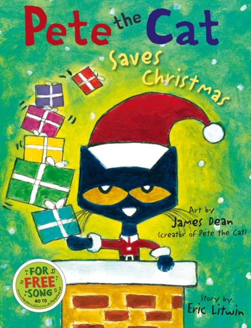 (ebook) Pete the Cat Saves Christmas