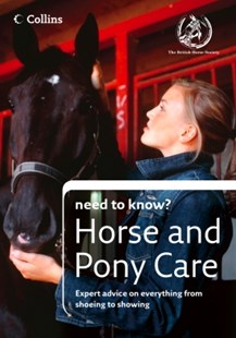 (ebook) Horse and Pony Care (Collins Need to Know?) - Non-Fiction Animals