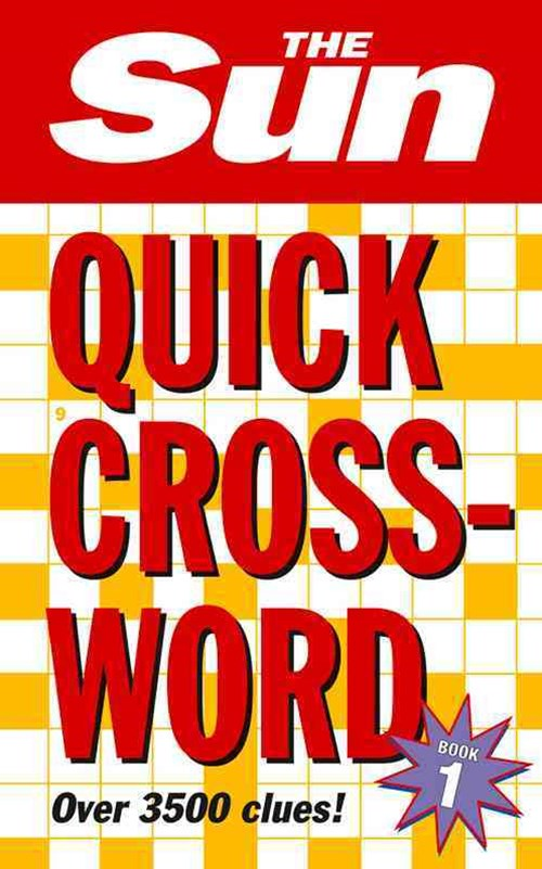The Sun Quick Crossword Book 1 [Bind-up Edition]
